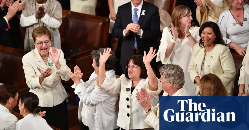 Trump's lip service to unity meets wall of resistance from the women in white
