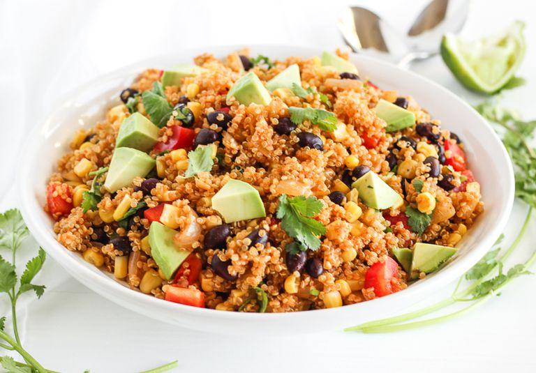 Recipes  Health Conditions  High Blood Pressure  Vegetarian Southwest Quinoa Salad