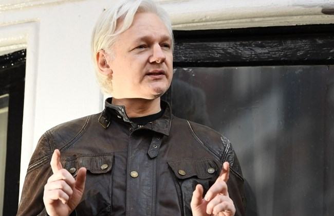 Julian Assange arrested by British police at Ecuadorean embassy