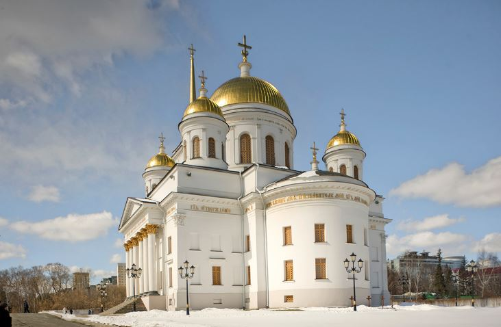 Yekaterinburg's convents: Centers of faith in a factory town